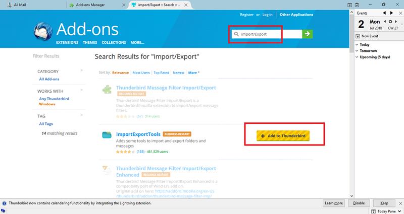 ImportExportTools plugin