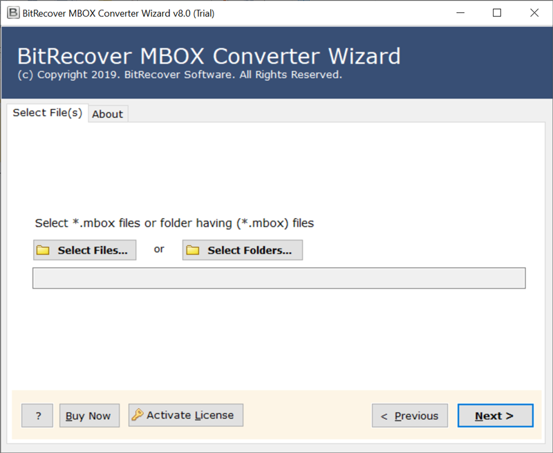 Run MBOX to HTML converter