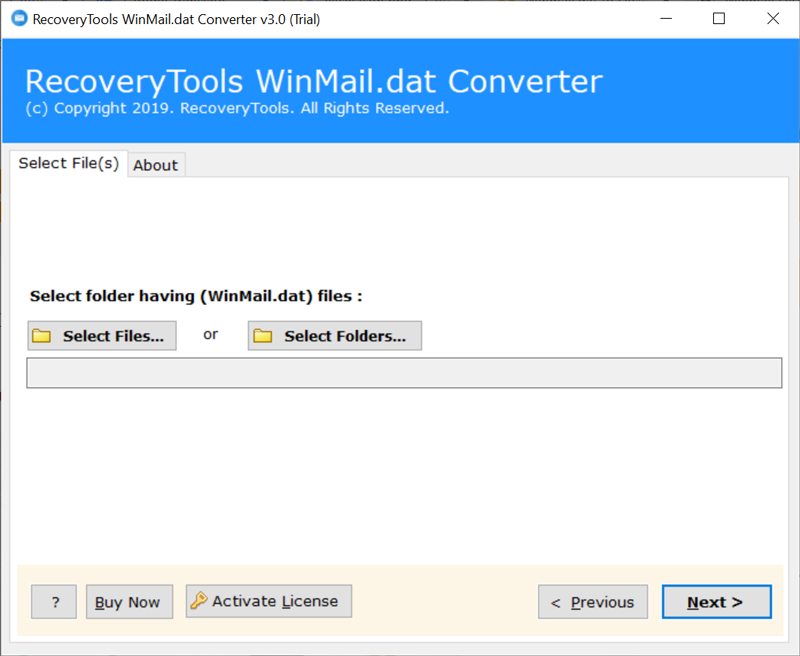 Run Winmail.dat to Excel Software
