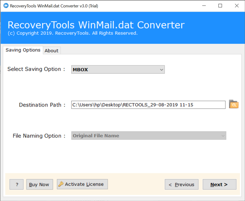 Winmail.dat to Apple Mail Converter