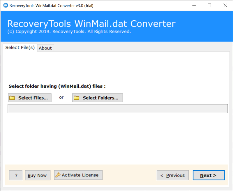 Winmail.dat to Yahoo Converter