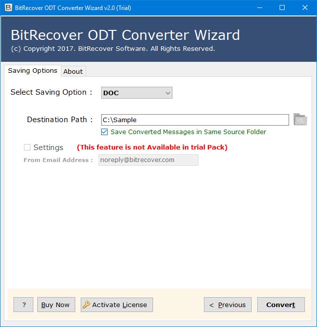 convert libreoffice to doc