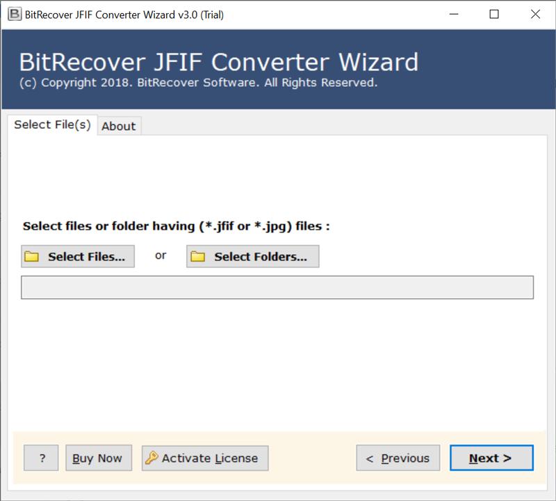 BitRecover JFIF to PDF Free Converter
