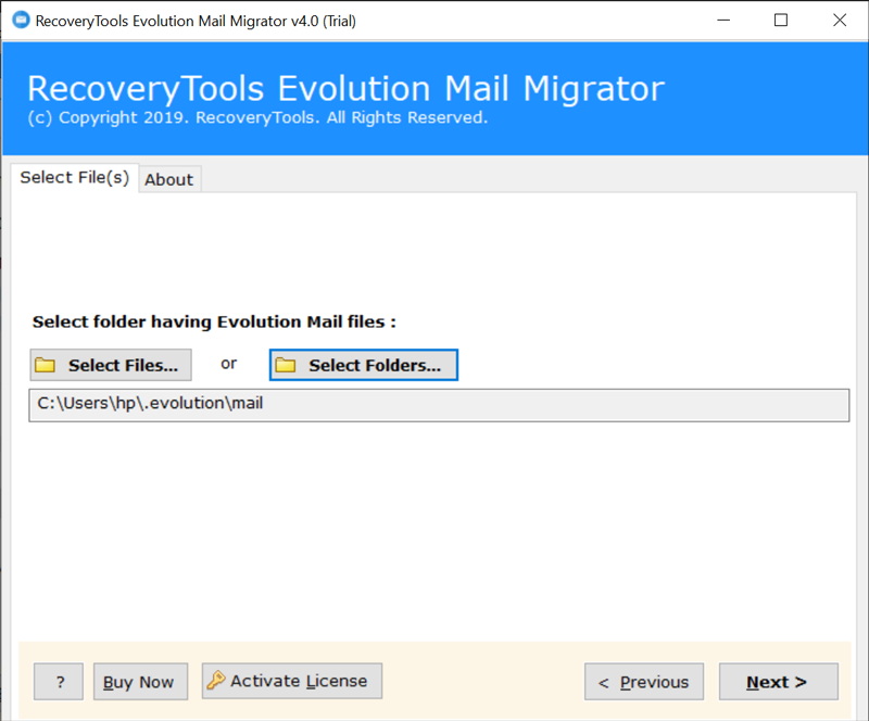 export mail from Evolution to Thunderbird