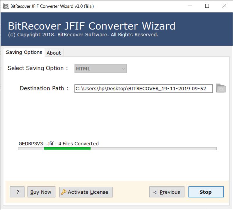 JPEG File Interchange Format to HTML