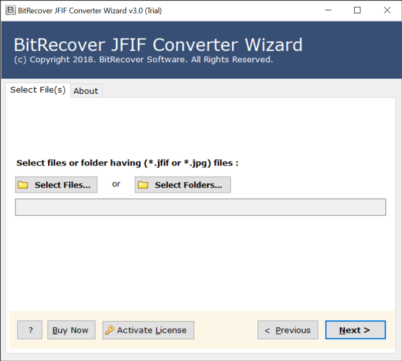 Run JFIF to JPEG Converter