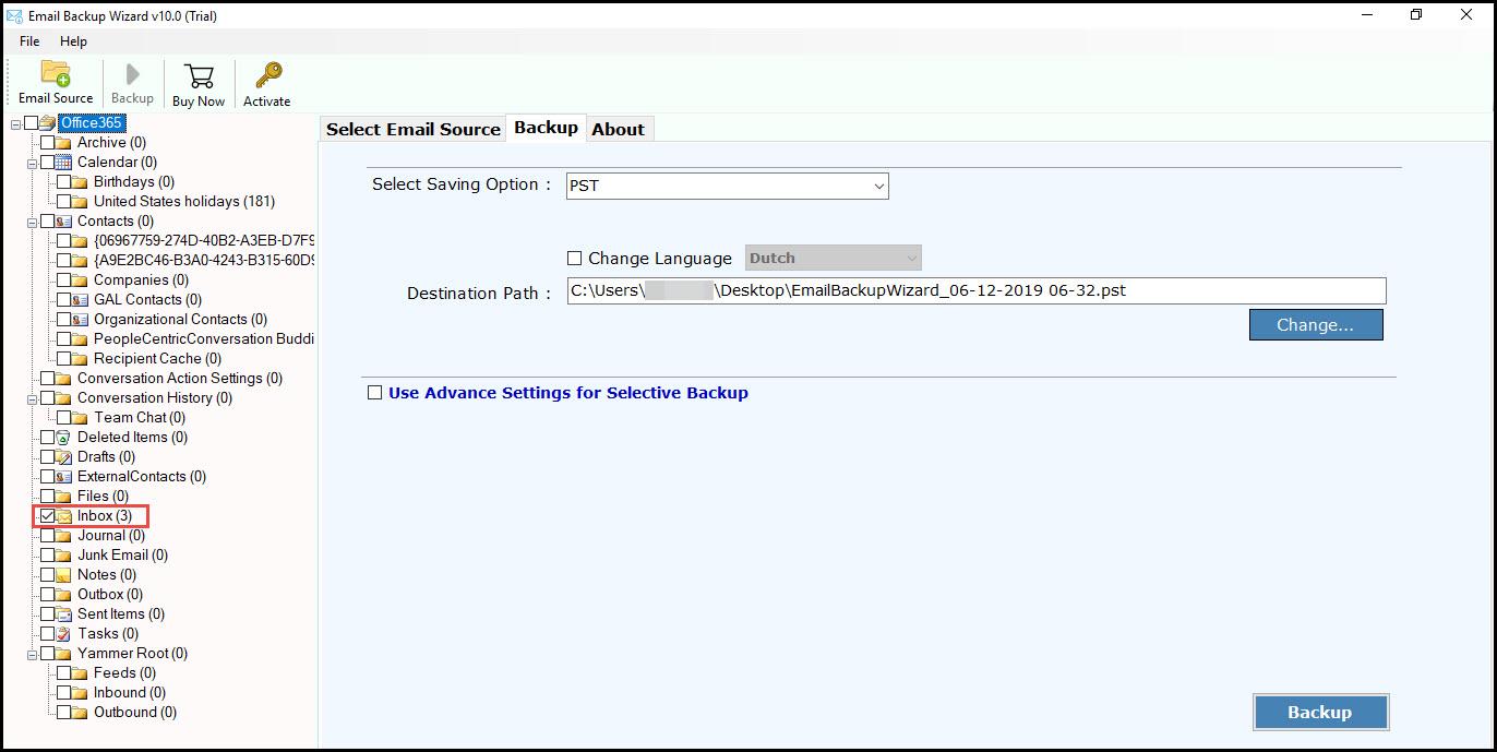 enable checkbox