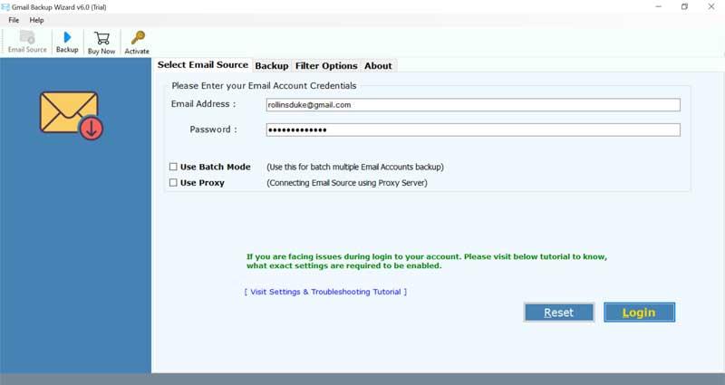 Gmail to PDF converter
