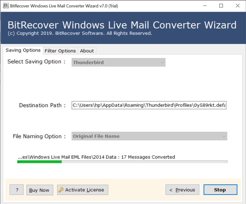 windows live mail to thunderbird transfer