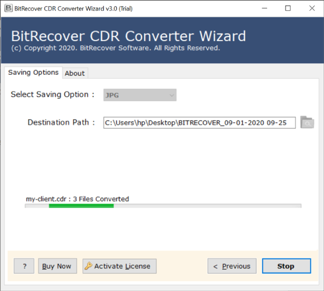 cdr-file-conversion