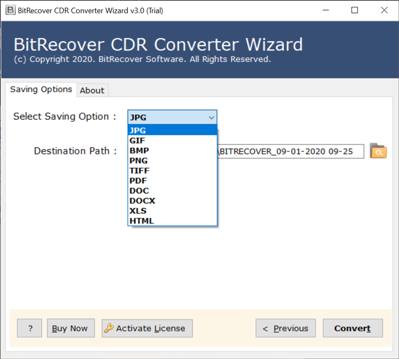 convert CDR file to Image