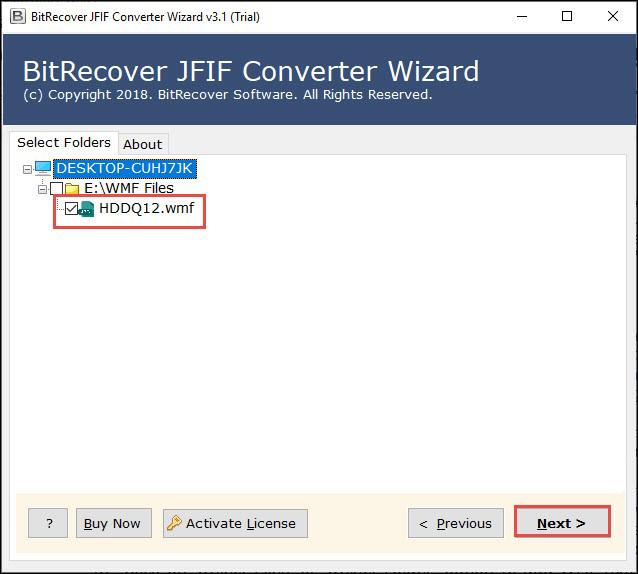 export in TIFF format