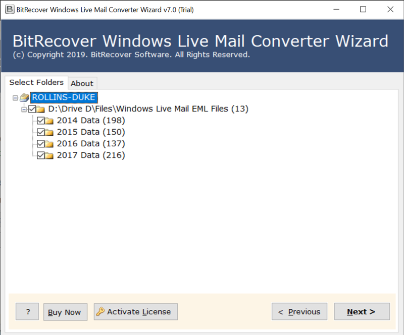 export windows live mail mbox format