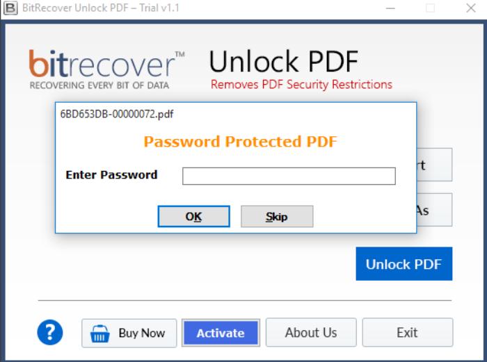 skip password