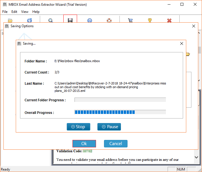 export email addresses from thunderbird