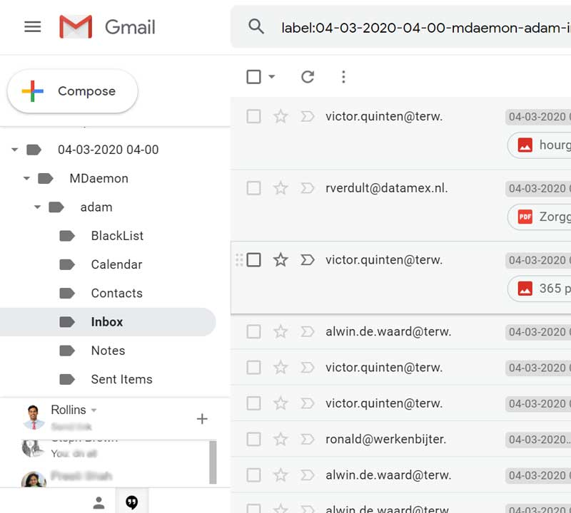 login to your Google Mail