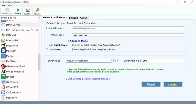 Open Xchange Backup Software