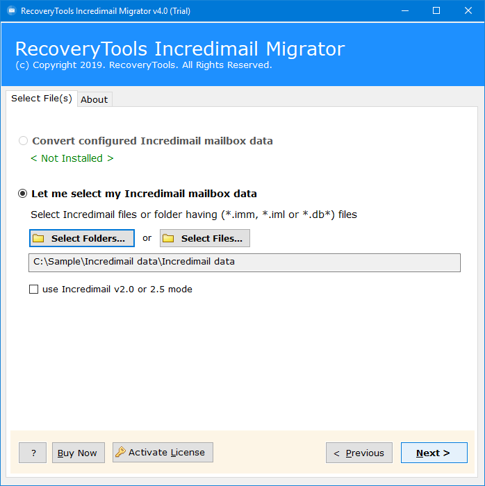 Summary: Are you a novice IncrediMail user and wish to backup IncrediMail data to Outlook. Have you changed your email client from IncrediMail to Outlook and intend to backup IncrediMail to Outlook. If yes, read this blog which explains a complete solution to backup IncrediMail folders to Outlook.