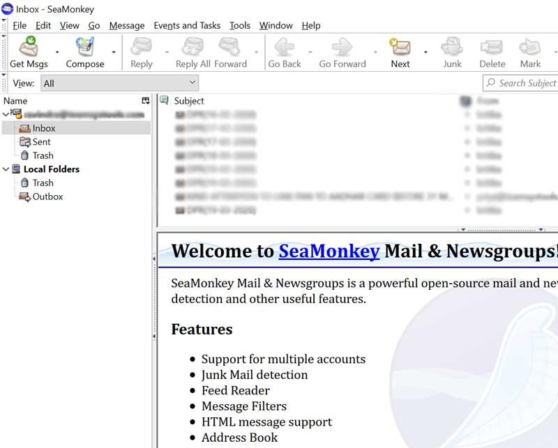 Export SeaMonkey Calendars in ICS