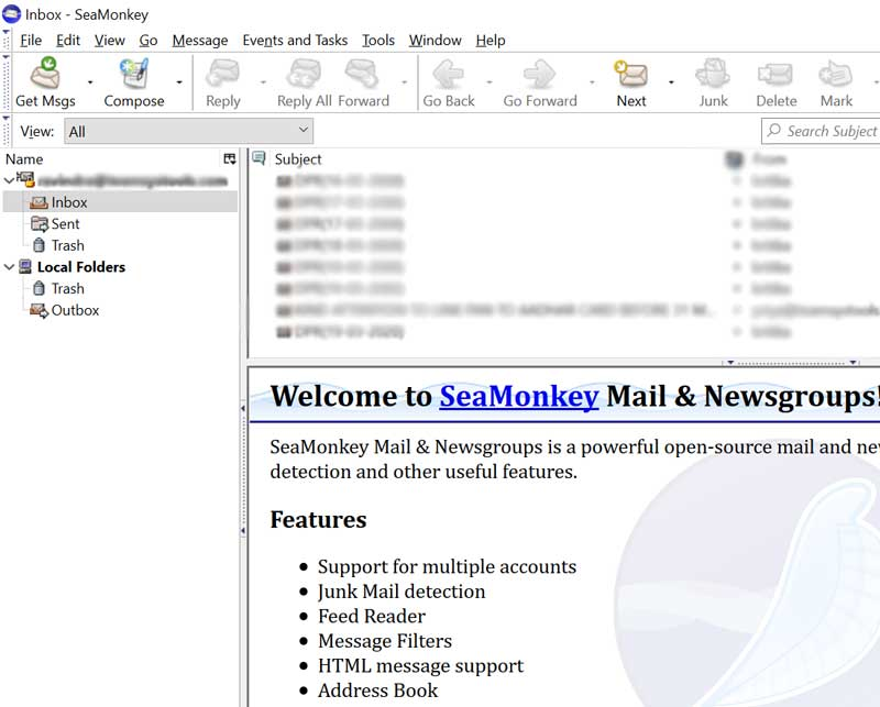 Export SeaMonkey Contacts in CSV