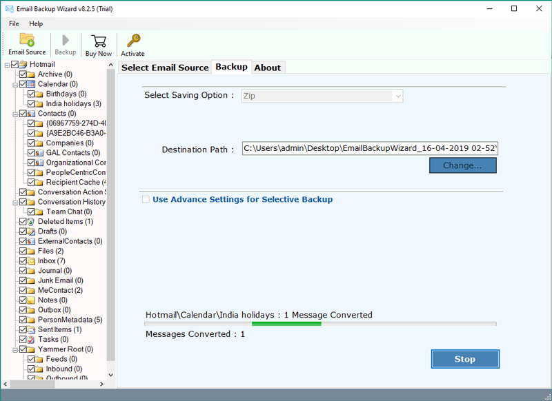 move-hotmail-emails-to-dropbox