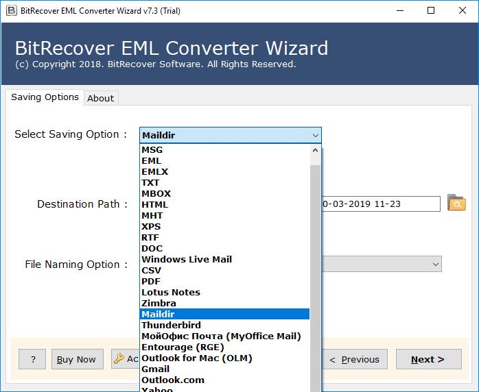 convert-eml-to-maildir