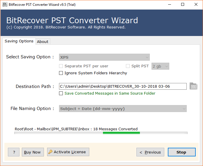 pst to xps conversion
