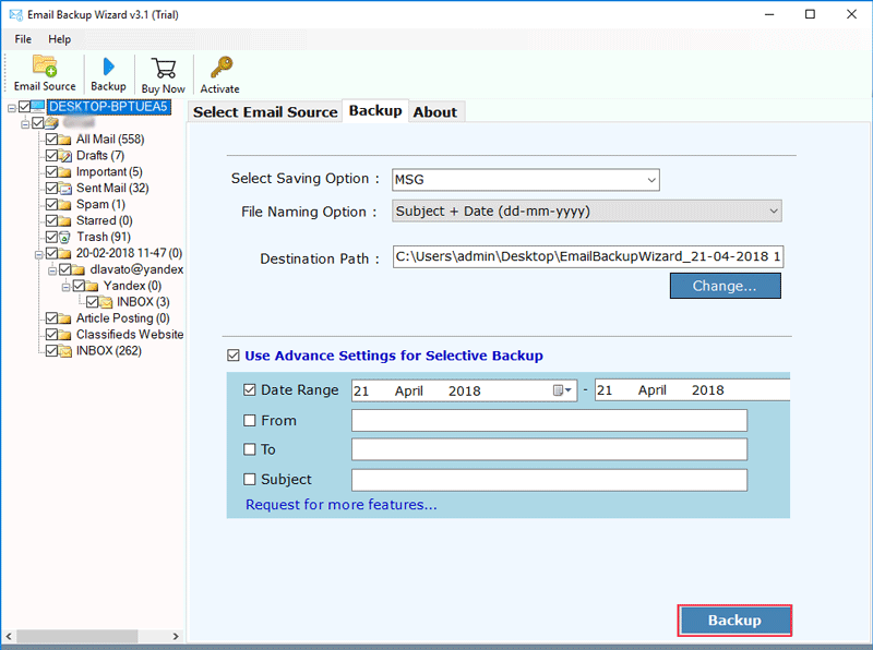163-mail-backup