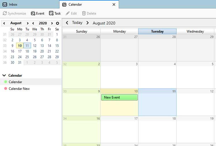 see Mozilla Thunderbird Calendars