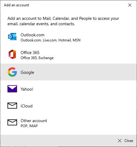 Gmail Not Syncing with Windows 10 Mail App