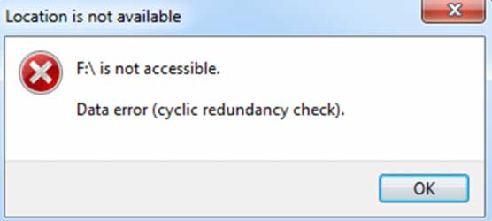 Cyclic Redundancy Check Error