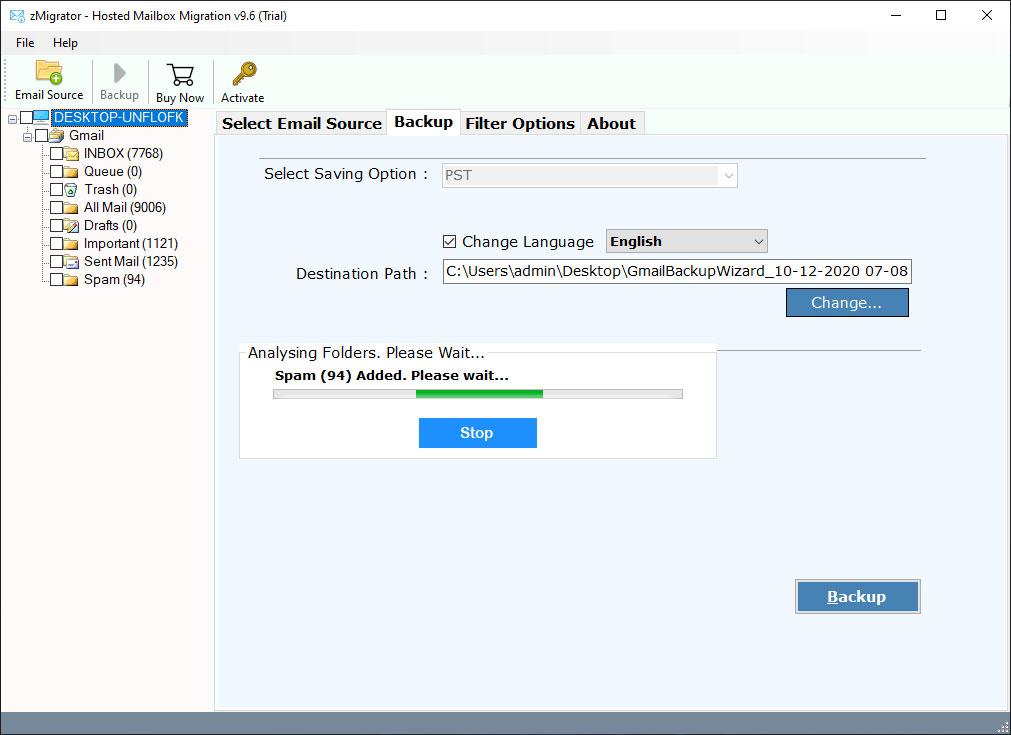 enable-zimbra-emails