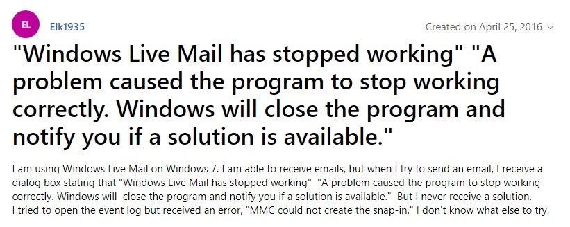 windows-live-mail-not-responding