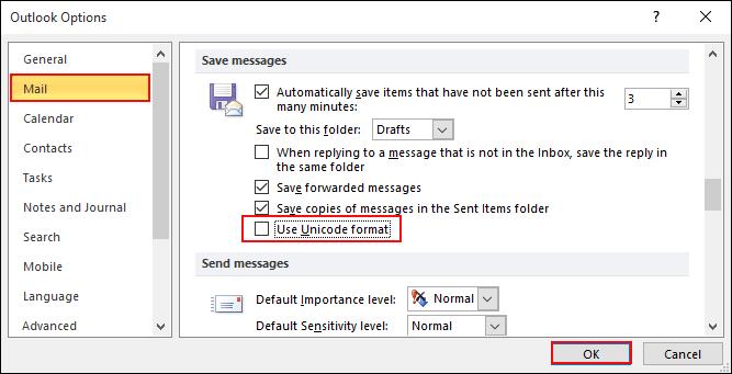 use-unicode-format