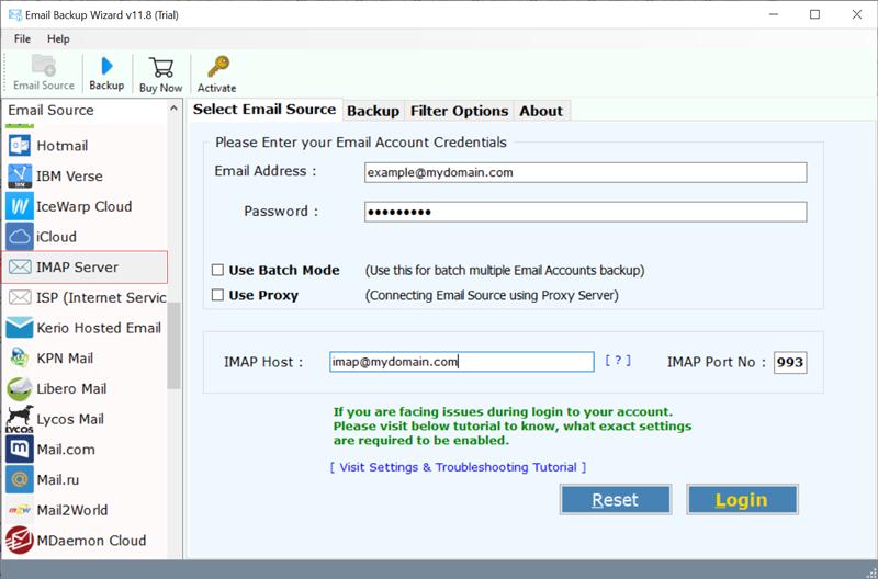IMAP option