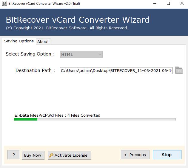 convert-vcard-to-html
