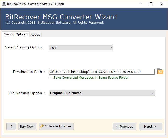 required-file-naming-option