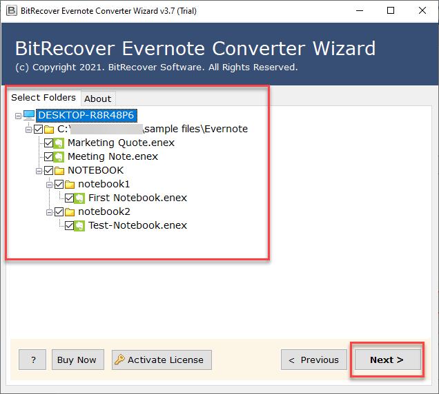Convert Evernote to PDF in Bulk