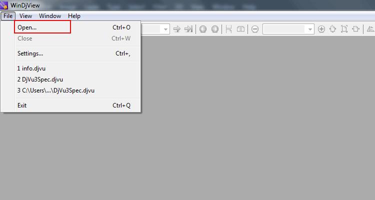 file extension djvu  free