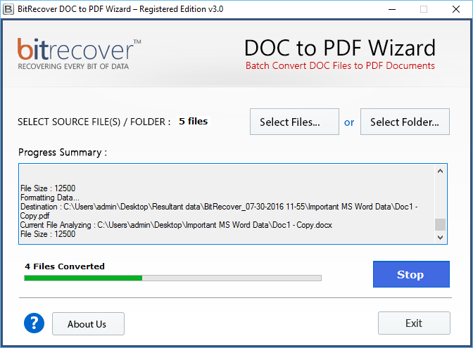 file conversion doc to pdf