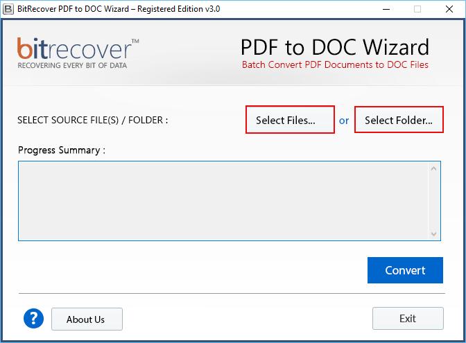 change pdf to doc