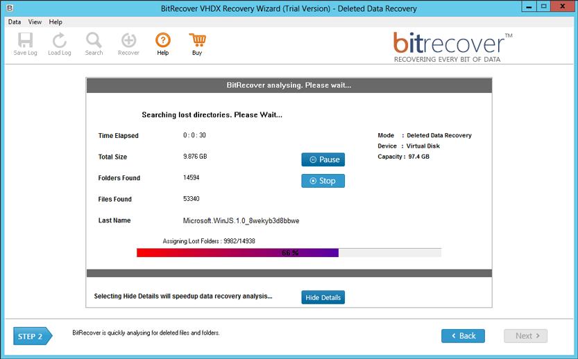 VHDX Viewer to Preview & Open Hyper-V VHD, VHDX Files