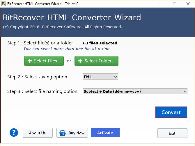 Press Convert