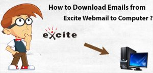 Excite mail backup