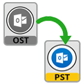 convert ost to ms outlook