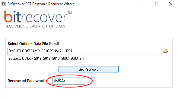 kernel outlook pst password recovery crack