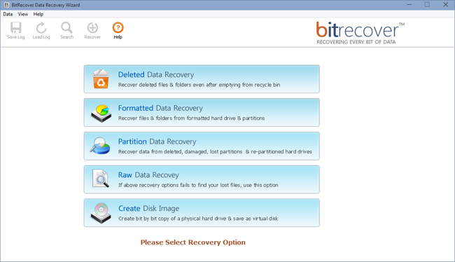 BitRecover Data Recovery Wizard