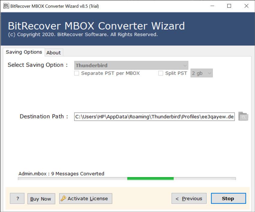 Importing Google Takeout to Mozilla Thunderbird