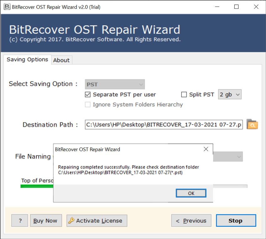 Microsoft Outlook OST repair tool
