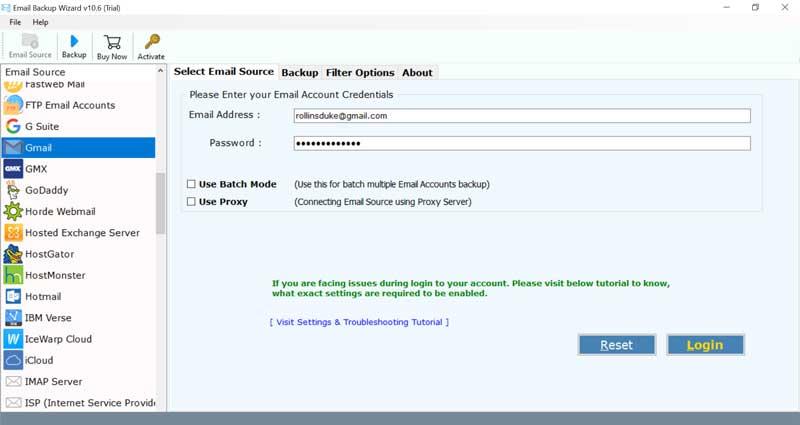 web-based services old emails